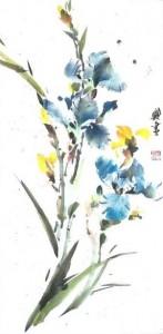 Li Zhongyao tableau 287x587